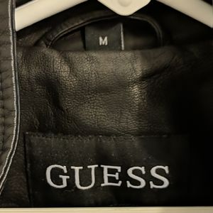 Guess Jackets & Coats - Guess Moto Leather Jacket